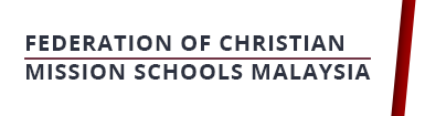 Federation of Christian Mission Schools Malaysia Logo